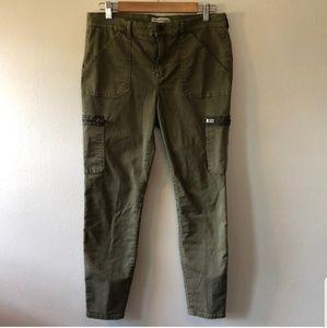 Madewell Fatigue Moto Pants